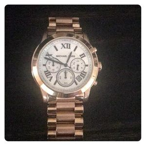 Rose Gold Michael Kors Women's watch..